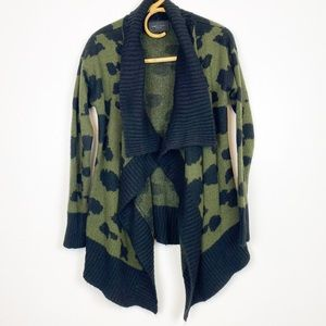 Romeo & Juliet Couture | Camo Waterfall Cardigan